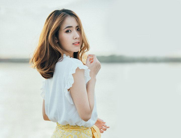 photo of Korean woman